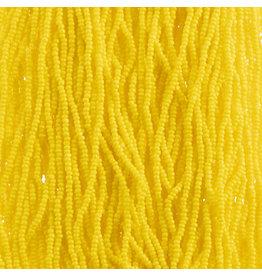 Czech 29309 13/0 Charlotte Cut Czech Seed Hank 12g Opaque Golden Yellow