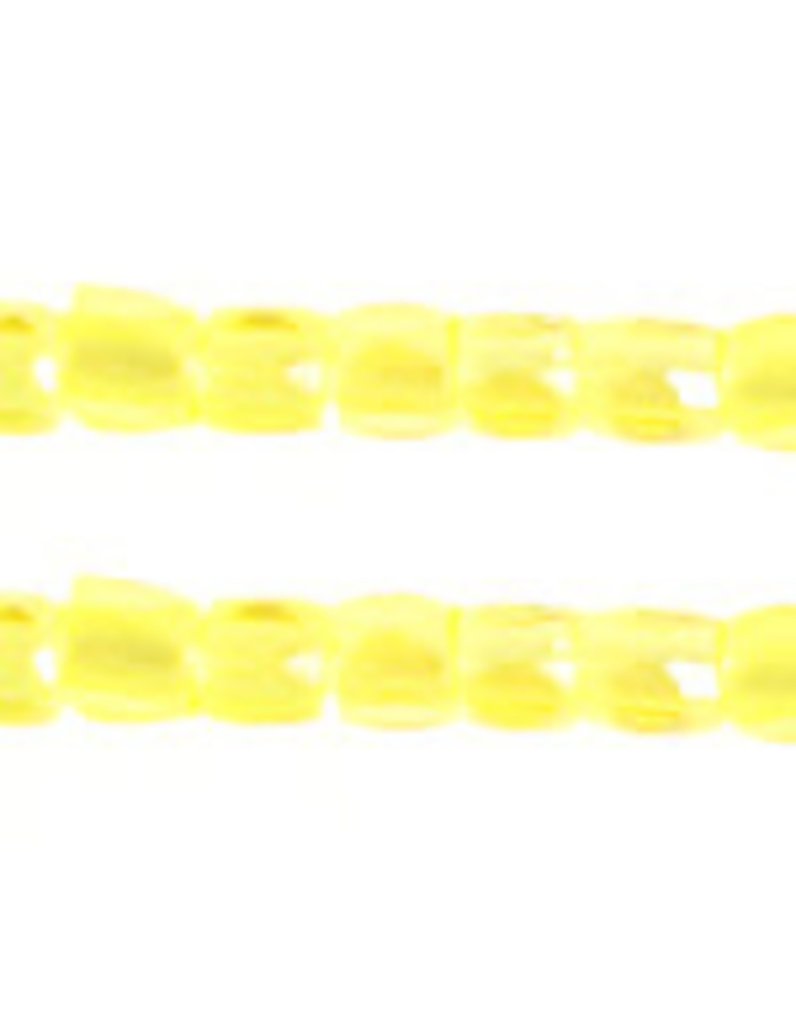 Czech 1752 10/0 3 Cut   Seed Hank 25g Transparent Yellow AB