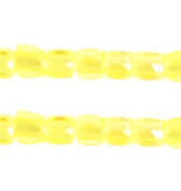 Czech 1752 10/0 3 Cut Czech Seed Hank 25g Transparent Yellow AB