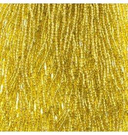 Czech 1768 10/0 3 Cut   Seed Hank 25g  Yellow s/l
