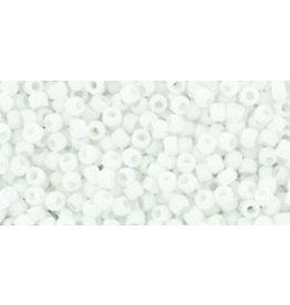 Toho 41f 15 Toho Seed 6g Opaque White Matte