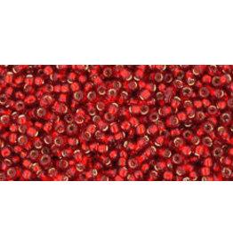 Toho 25c 15 Toho Seed 6g  Ruby Red s/l