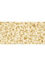 Toho 762 15  Seed 6g  Opaque Eggshell Cream Beige
