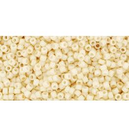 Toho 762 15 Toho Seed 6g  Opaque Eggshell Cream Beige