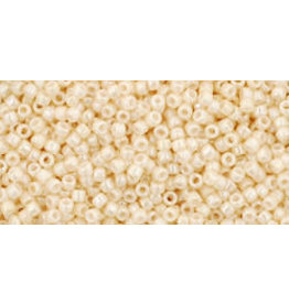 Toho 123 15  Seed 6g  Opaque Light Beige Lustre