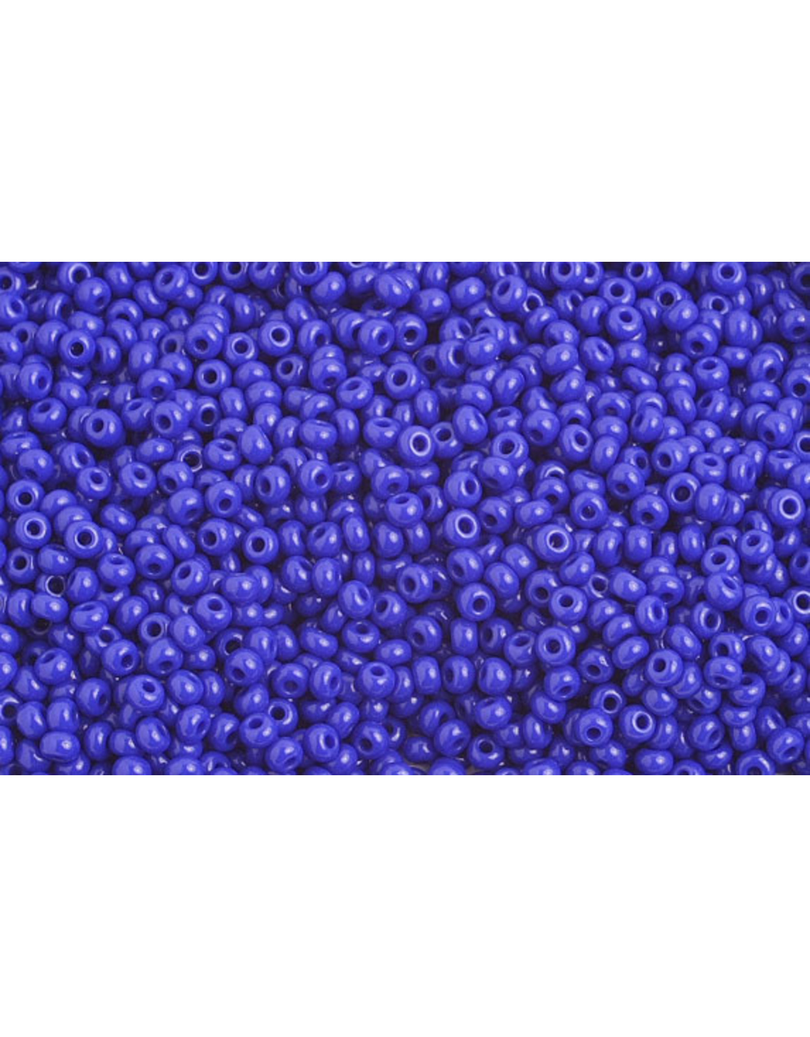 Czech 1044 10 Czech Seed 20g Opaque Royal Blue