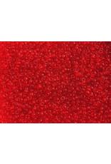 Czech 1196 10 Czech Seed 20g Transparent Red