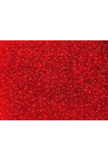 Czech 1196B 10 Czech Seed 250g Transparent Red
