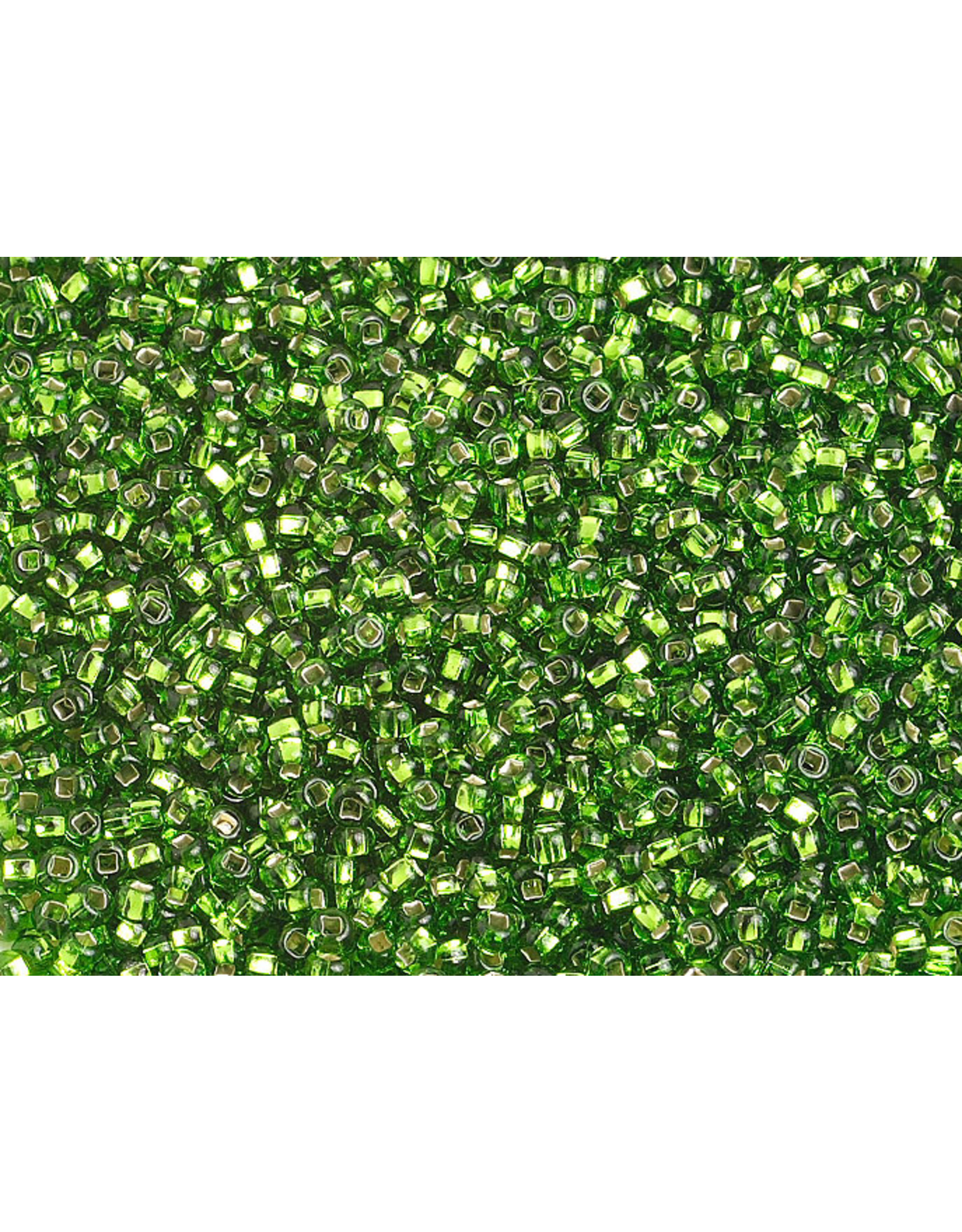 Czech 1288 10   Seed 20g Chartreuse Green  s/l
