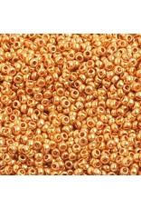 Czech *1504 10 Czech Seed 10g Gold Metallic