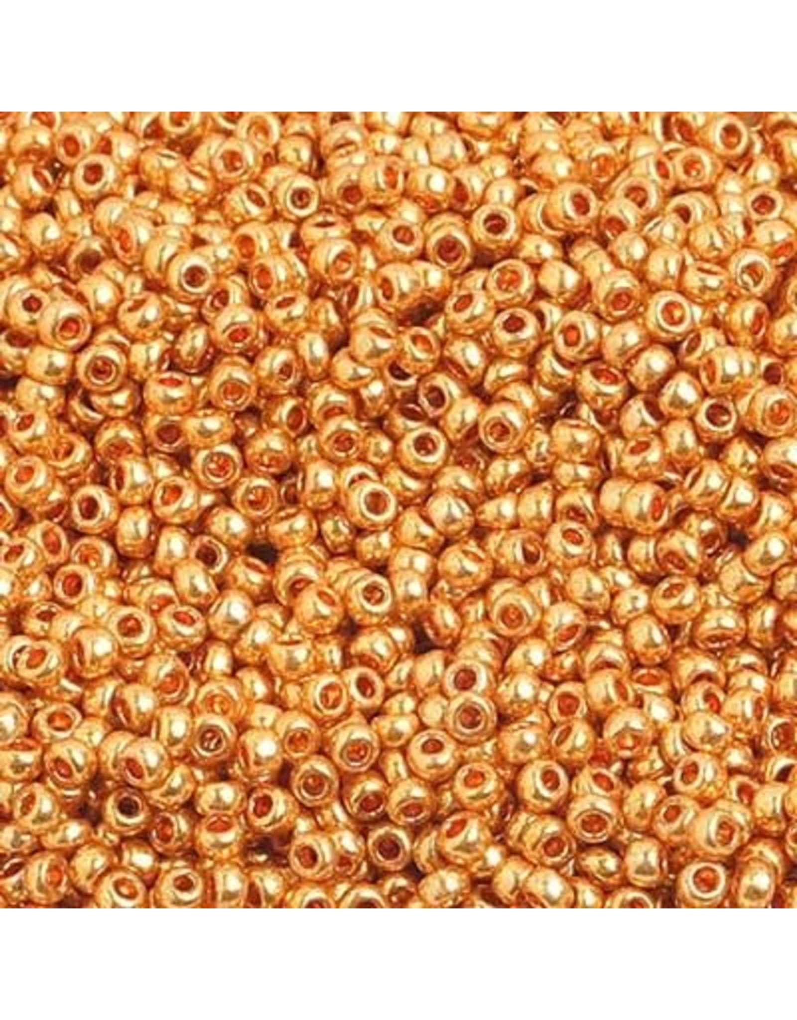 Czech 1504B 10 Czech Seed 250g Gold Metallic
