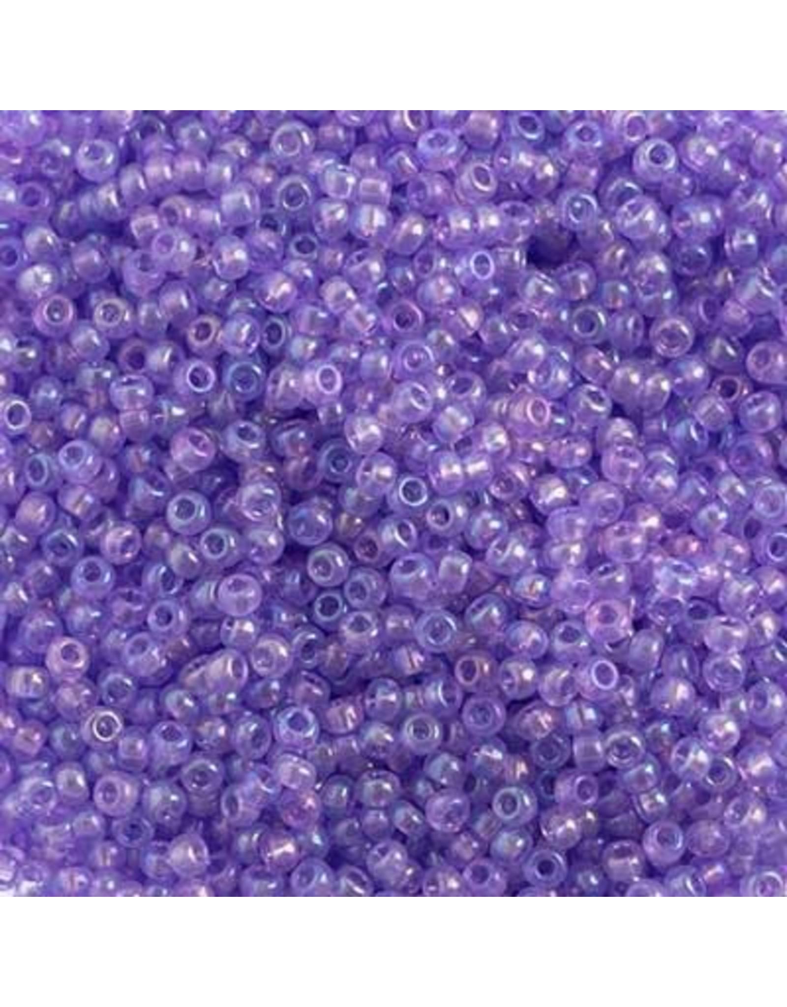 Czech 2402 10   Seed 20g Transparent Mauve Purple AB