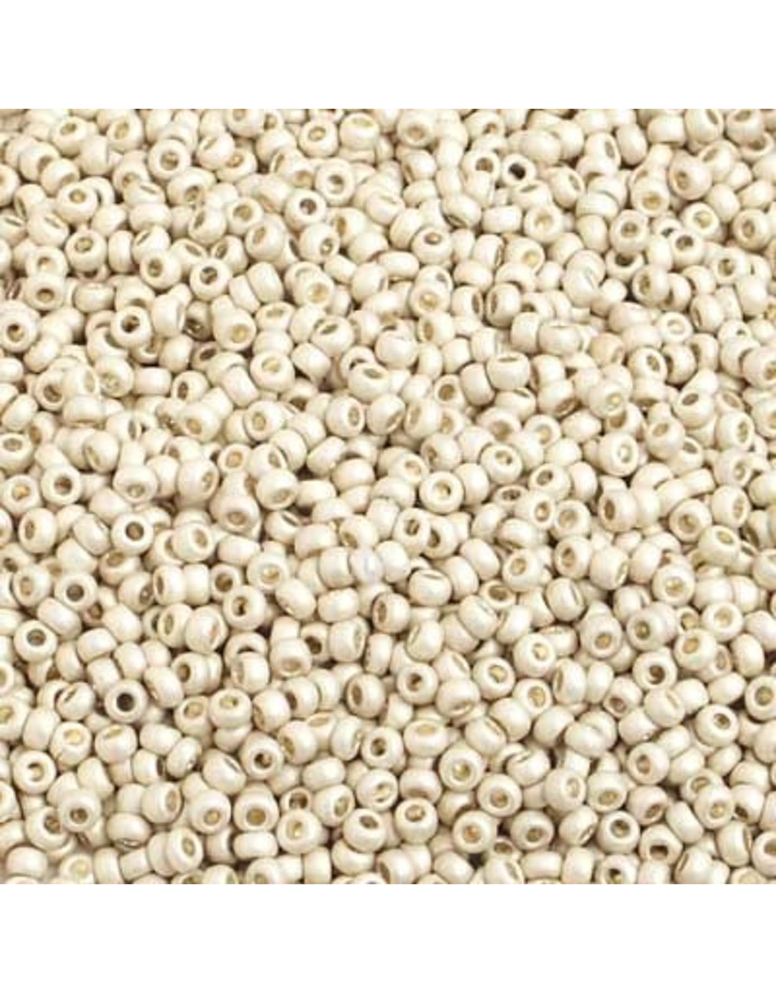 Czech *42018 10   Seed 10g Silver Metallic Matte Terra