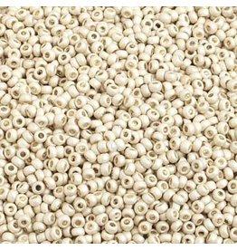 Czech *42018B 10   Seed 125g Silver Metallic Matte Terra