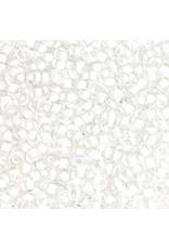 Czech 42020B 10   Seed 250g Clear White c/l terra