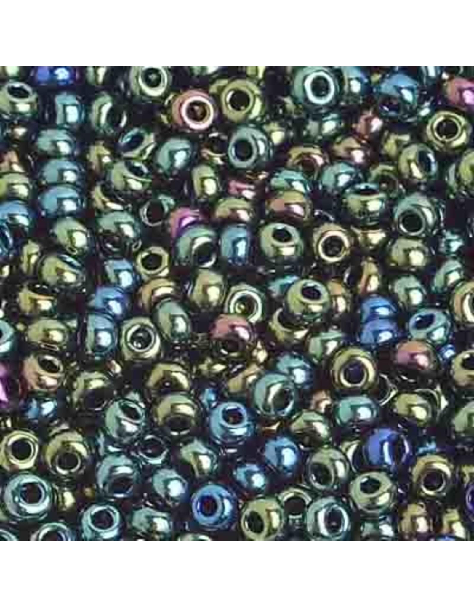 Czech 201006  8 Czech Seed 20g Opaque Green AB