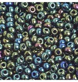 Czech 201006  8   Seed 20g Opaque Green AB
