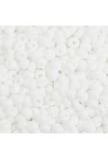 Czech 201575  8 Czech Seed 20g Opaque White