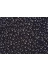 Czech 201576B  8   Seed 250g Opaque Black