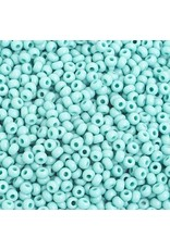Czech 201578  8   Seed 20g Opaque Turquoise Blue