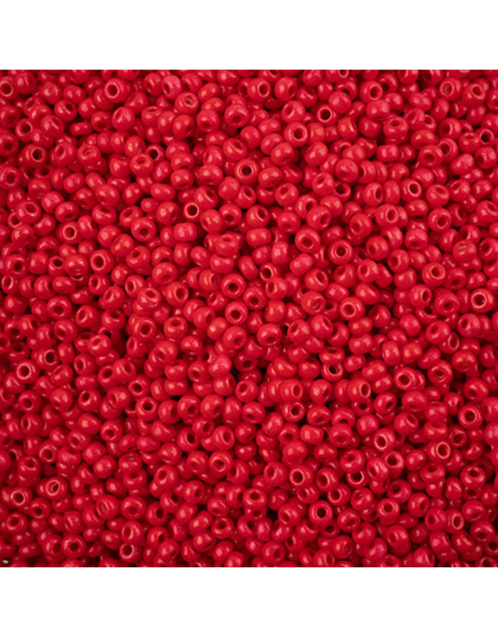 Czech *243115  8 Czech Seed 10g Opaque Red Terra Intensive