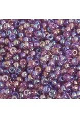 Czech 401008 6   Seed 20g  Transparent Light Amethyst Purple  AB