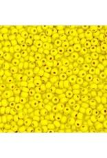Czech 442023  6   Seed 20g  Yellow Chalk Terra Matte Lustre