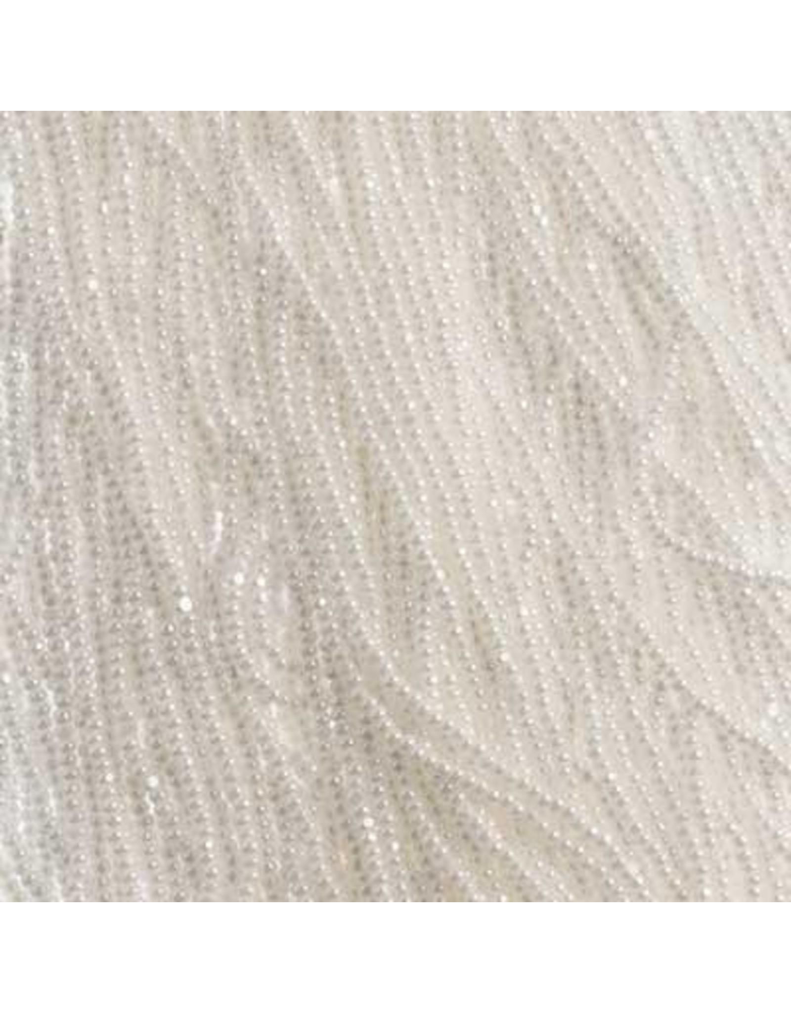 Czech 01024 13/0 Charlotte Cut Czech Seed Hank 12g Opaque White L:ustre