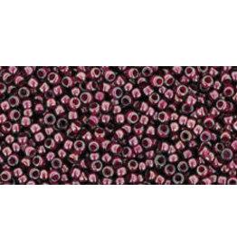 Toho 1076 15 Toho Seed 6g  Grey Magenta Purple c/l
