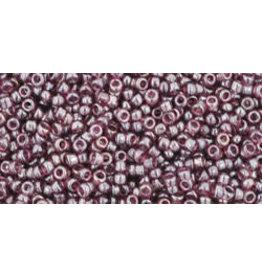 Toho 115 15 Toho Seed 6g  Transparent Amethyst Purple Lustre