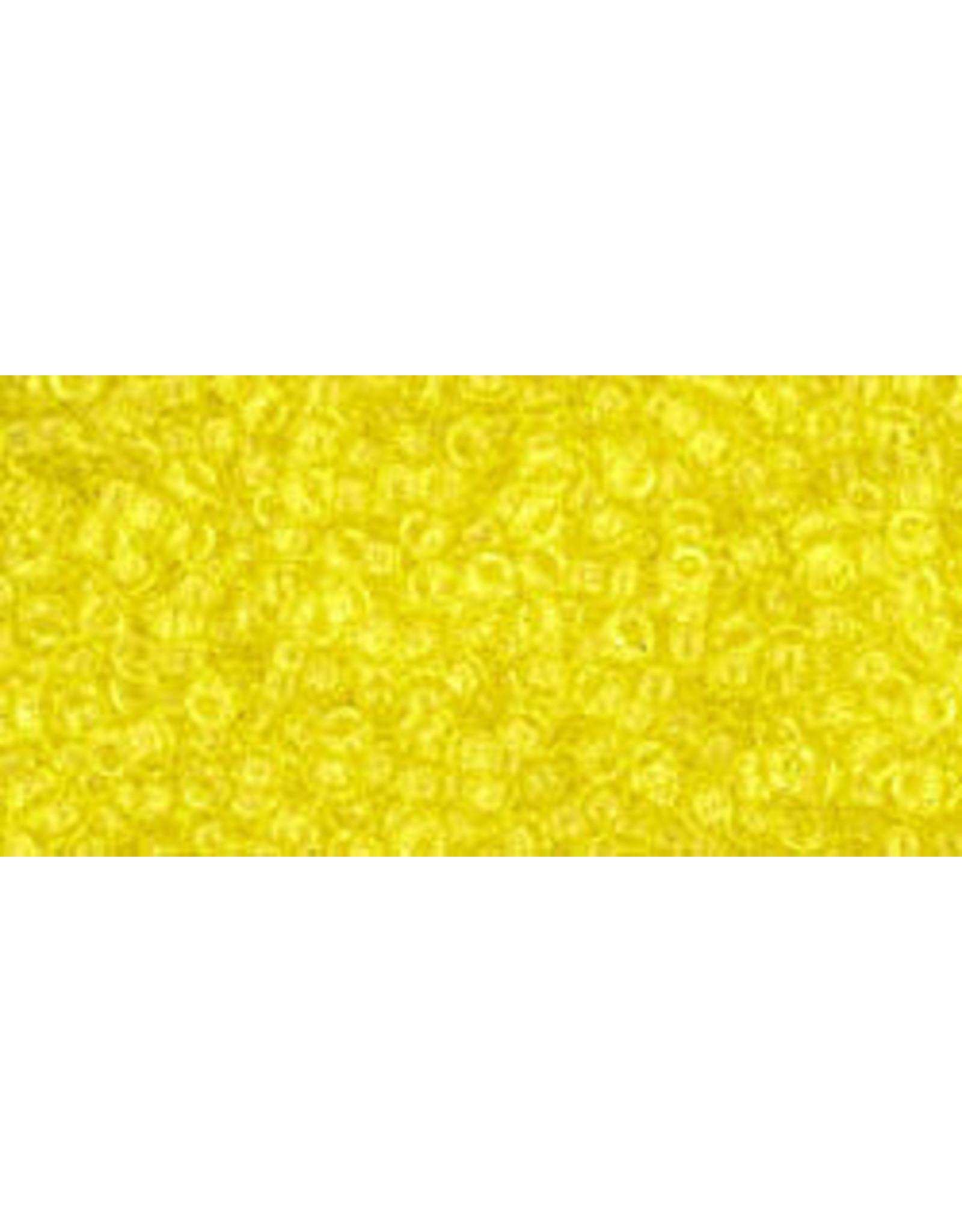 Toho 12 15  Seed 6g  Transparent Lemon Yellow