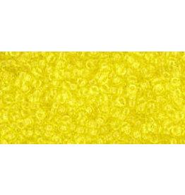 Toho 12 15 Toho Seed 6g  Transparent Lemon Yellow