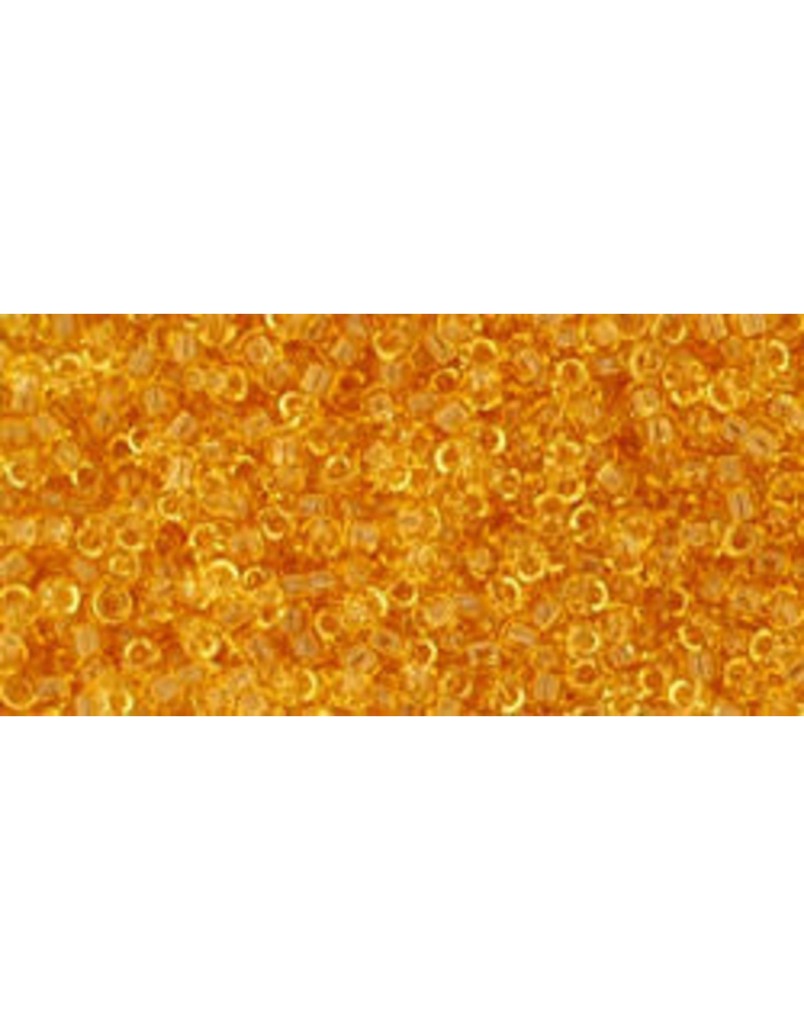 Toho 2 15  Seed 6g  Transparent Light Topaz Brown