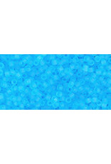 Toho 3f 15  Seed 6g  Transparent  Aqua Blue Matte