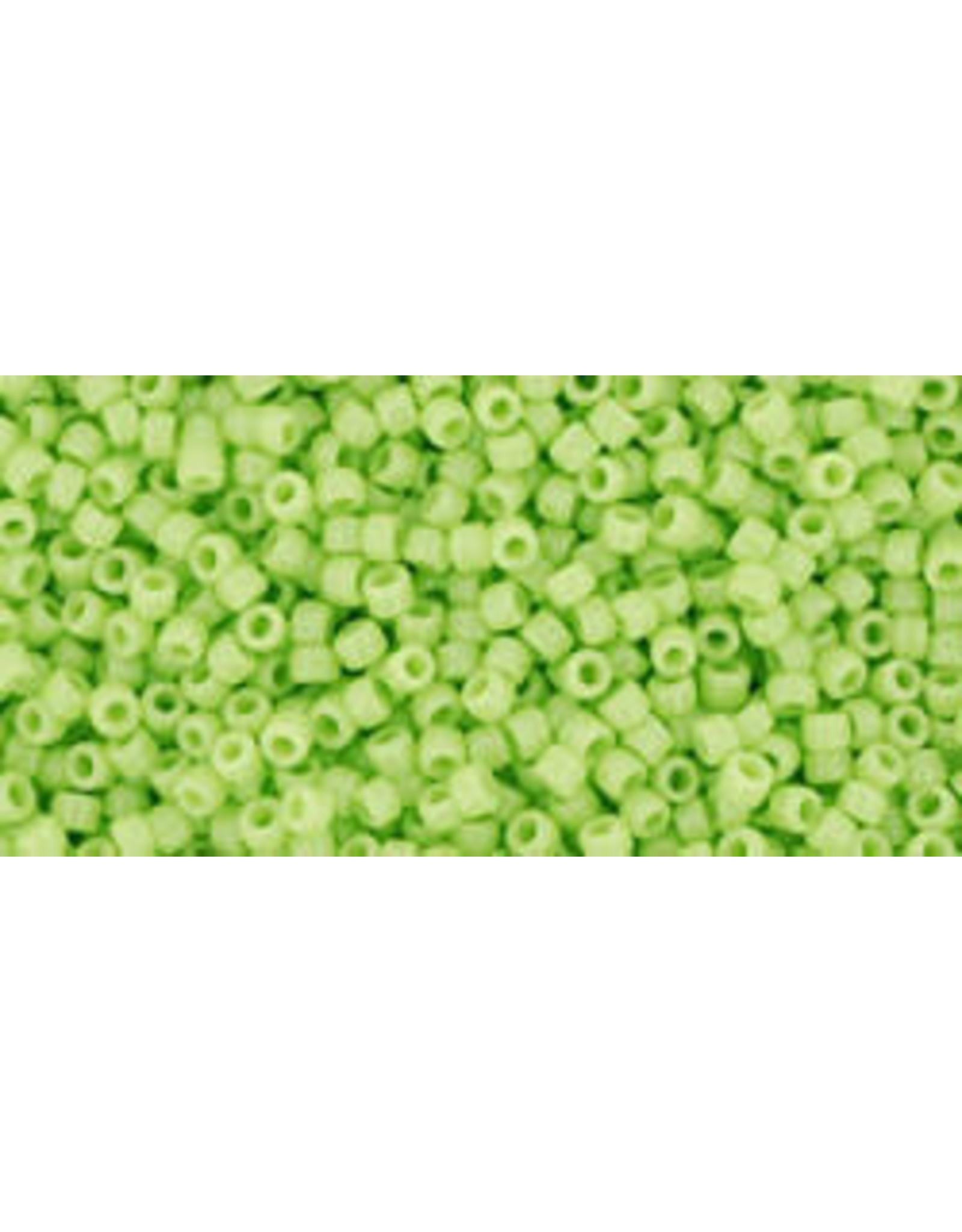 Toho 44 15  Seed 6g  Opaque Light Green