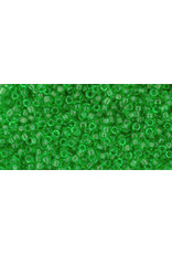 Toho 7 15 Toho Seed 6g  Transparent  Peridot Green