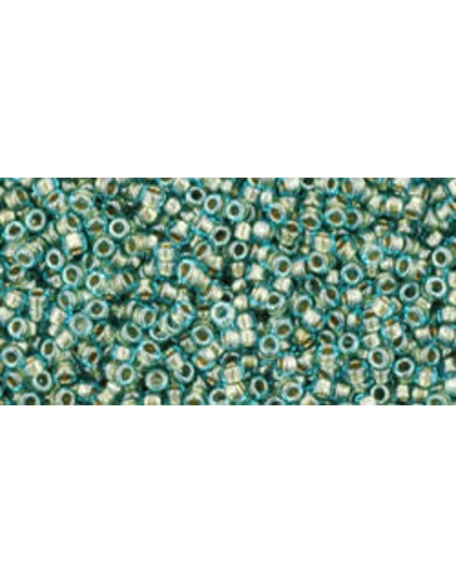 Toho 284 15  Seed 6g   Aqua Blue g/l
