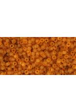 Toho 2cf 15  Seed 6g  Transparent Dark Topaz Brown Matte