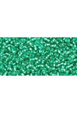 Toho 24b  15  Seed 6g Dark Peridot Green  s/l