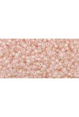 Toho 169 15  Round 6g   Transparent Rosaline Pink  AB