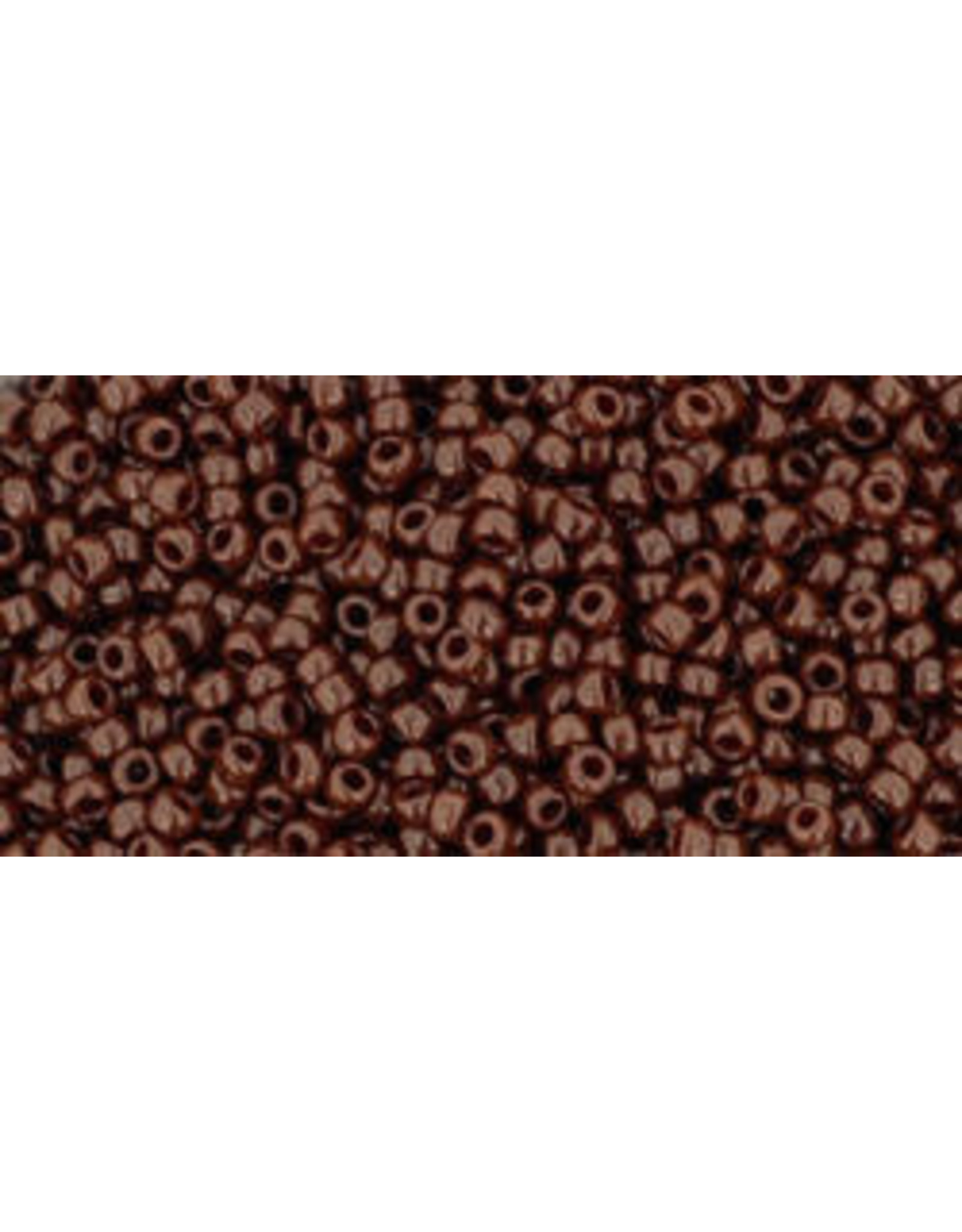 Toho 46 15  Seed 6g  Opaque Oxblood Brown
