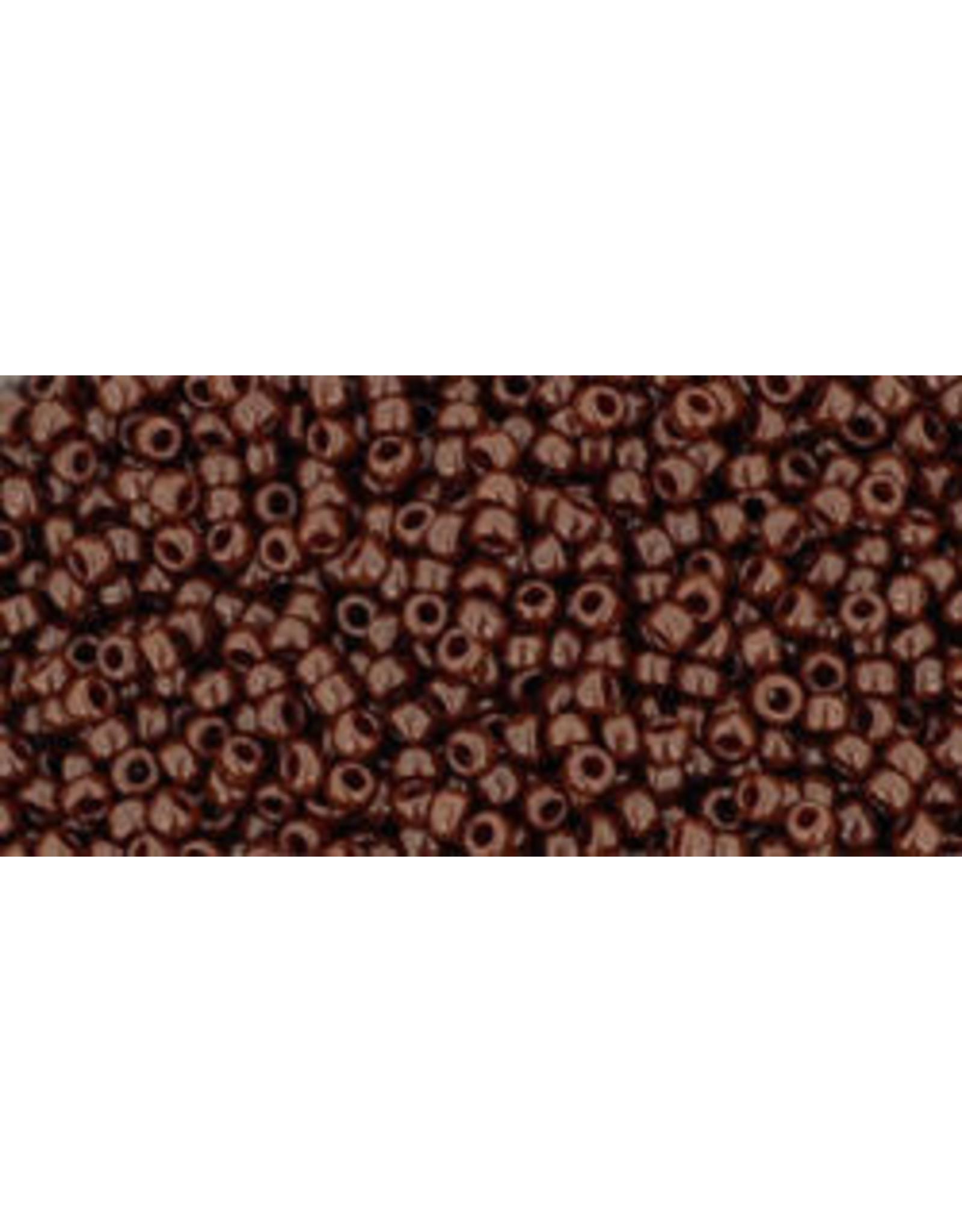 Toho 46 15 Toho Seed 6g  Opaque Oxblood Brown