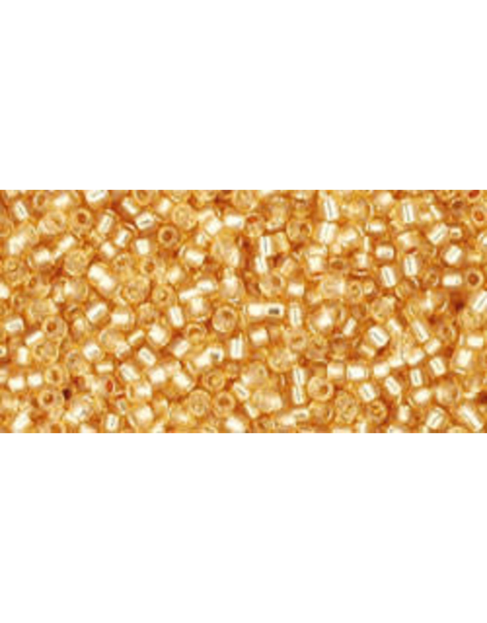 Toho 2110 15  Seed 6g  Milky Topaz s/l