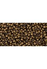 Toho 221f 15  Round 6g Bronze Brown Metallic Matte