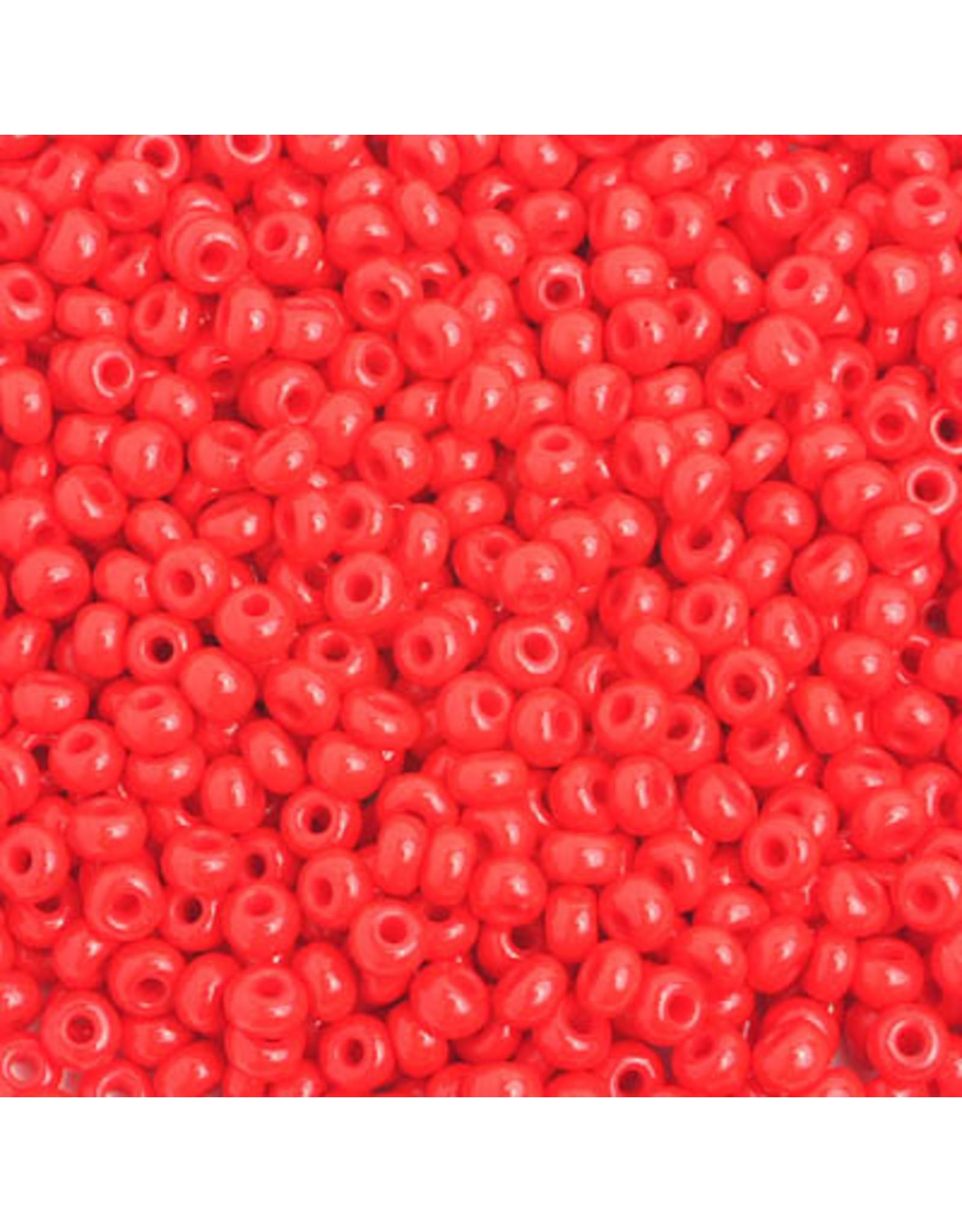 Czech 401630 6   Seed 20g Opaque Light Red
