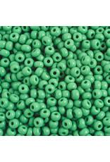Czech 401628b 6 Czech Seed 250g Opaque Medium Green