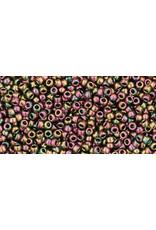 Toho 509 15 Toho Seed 6g  Purple Green Metallic AB
