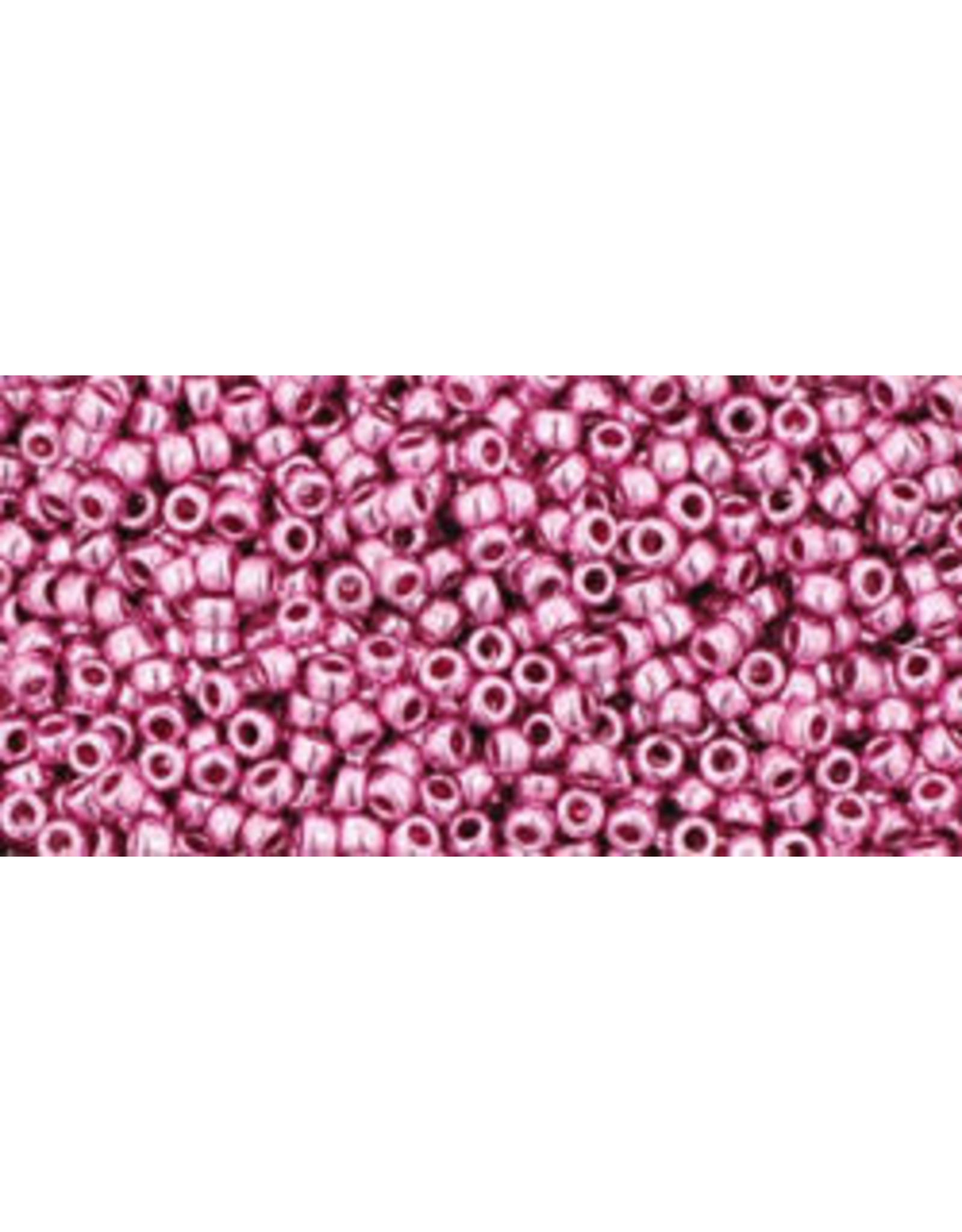 Toho 553 15 Toho Seed 6g  Pink Metallic