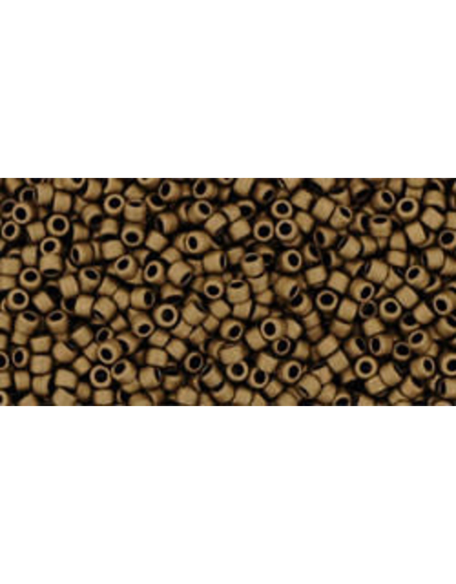 Toho 702 15 Toho Seed 6g  Dark Copper Brown Metalllic Matte