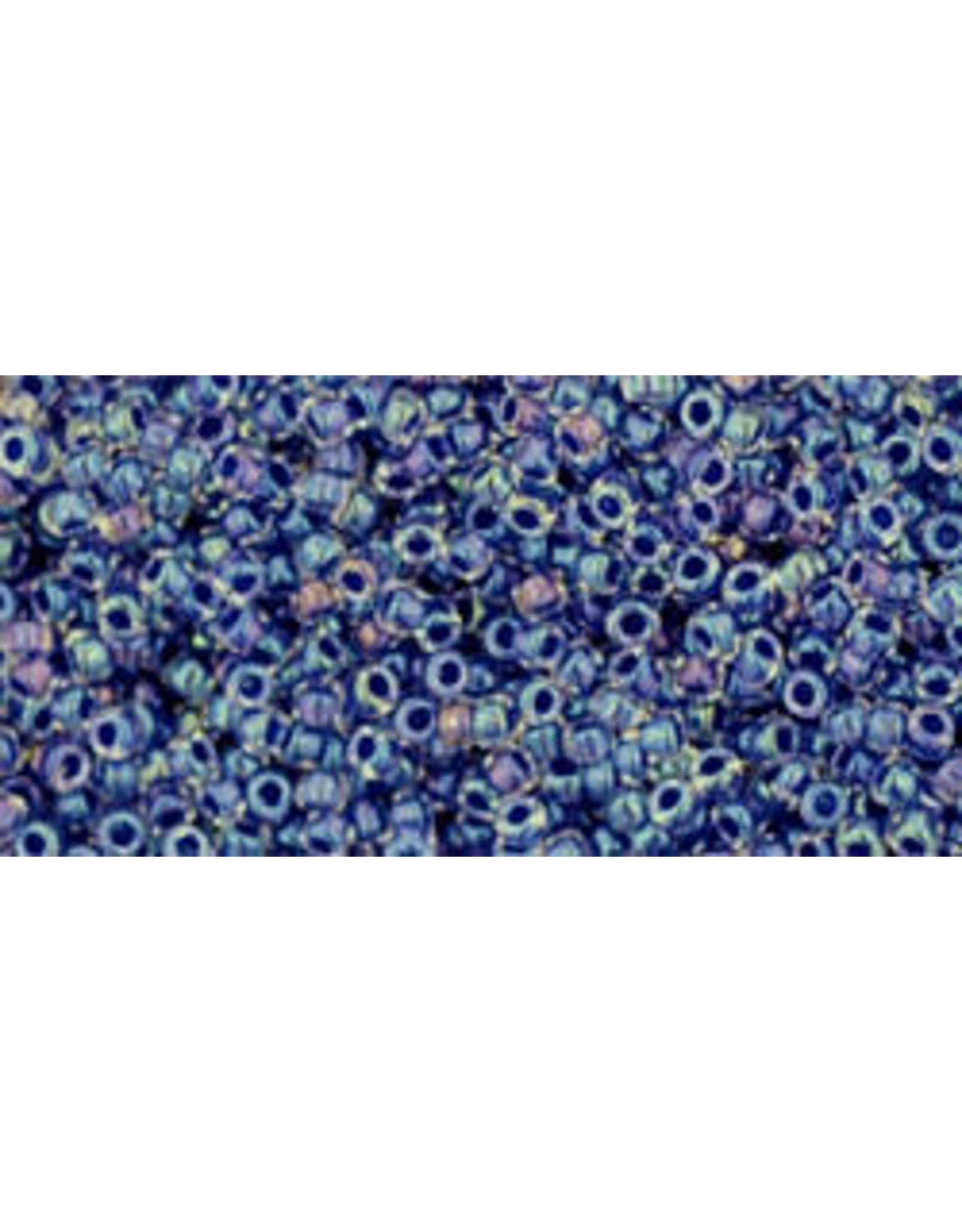 Toho 774 15  Seed 6g Clear AB Purple c/l